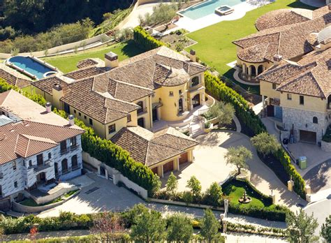 kim kardashian and kanye west s new house in calabasas aerial views of kim kardashian and kanye west s new home