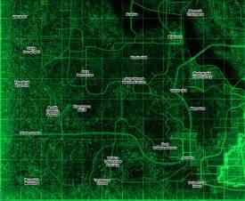 Fallout 3 World Map by Fallout 3 Map