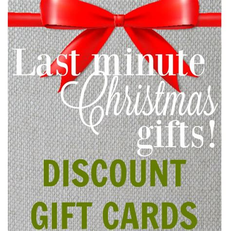 Rise Gift Card - last minute gift idea discount gift cards up to 30 off