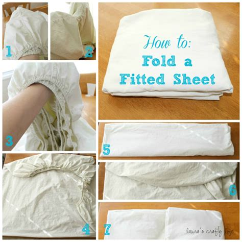 how to fold a fitted bed sheet day 21 clean linen and coat closets laura s crafty life