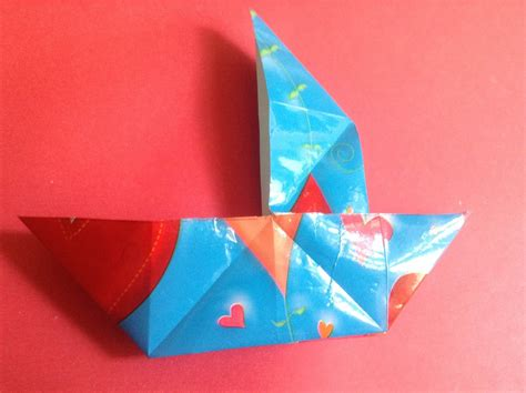 origami boat trick quot trick boat quot origami tutorial video with music youtube