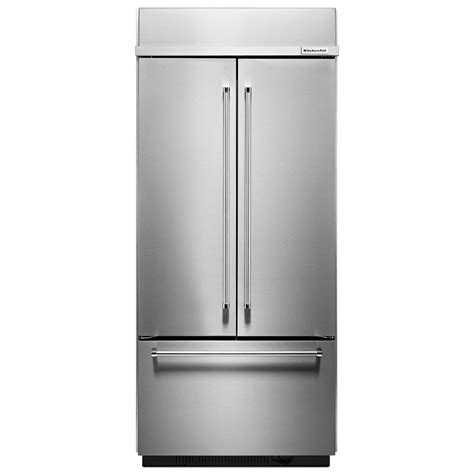 Kitchenaid Appliances Wholesale Kitchenaid Kbfn506ess 20 8 Cu Ft Built In Door