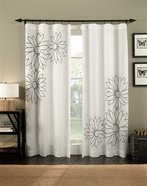 Simple Modern Curtains Inspiration 5 Type White Curtains
