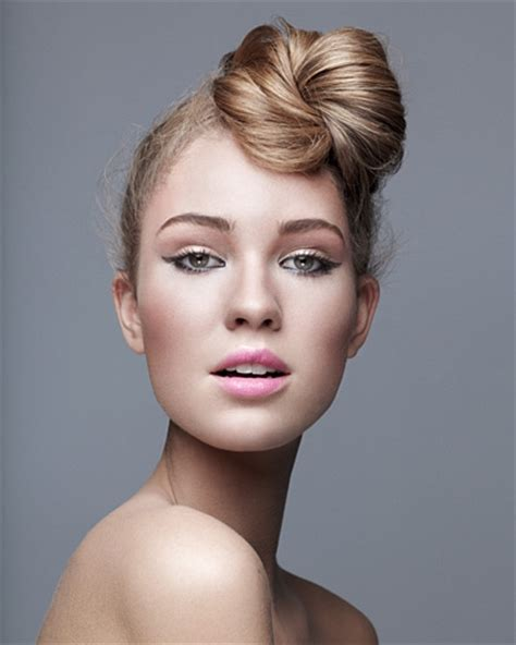 front hairstyles with a bun hair styling ideas for long hair 2012