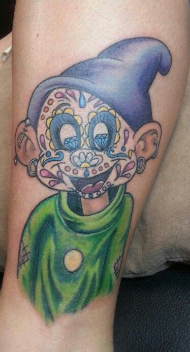 dopey tattoo designs dopey sugar skull unique and one of a