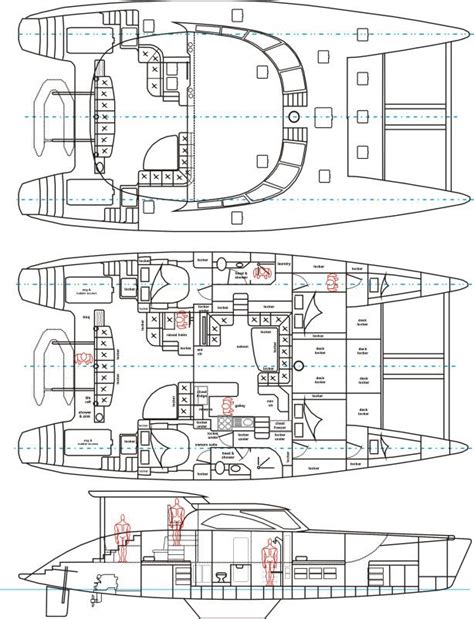catamaran layout plans how build catamaran plans free download catamaran