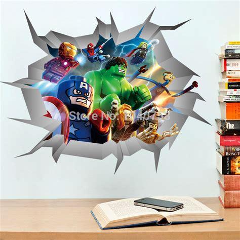 superhero wall decorations a superhero wall decor 3d online buy wholesale superhero stickers from china