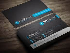 blue business card template modern blue corporate business card template 187 free