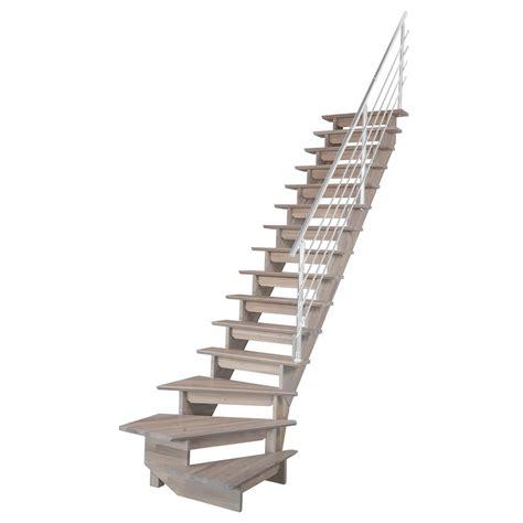 agréable Leroy Merlin Chaise Jardin #1: escalier-quart-tournant-bas-droit-auvergne-structure-bois-marche-bois.jpg