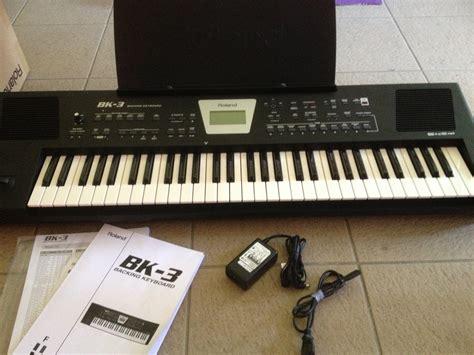 Keyboard Roland Bk 3 Terbaru roland bk 3 image 683793 audiofanzine