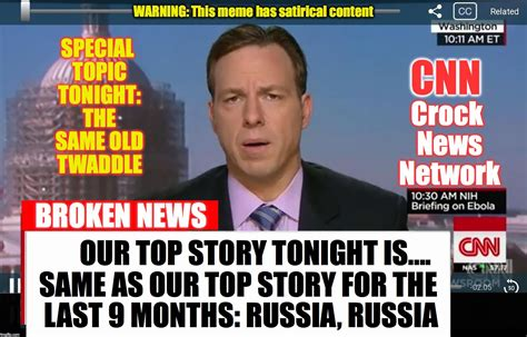 Cnn Meme - cnn crock news network imgflip