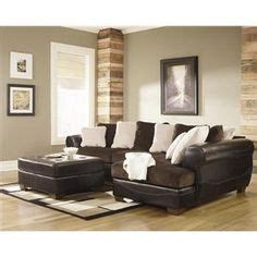 ashley furniture victory sectional dixon durablend chocolate sectional sofa by signature