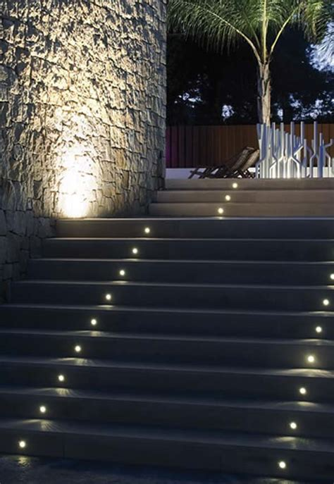 Outdoor Lighting Stairs 30 Astonishing Step Lighting Ideas For Outdoor Space Architecture Design