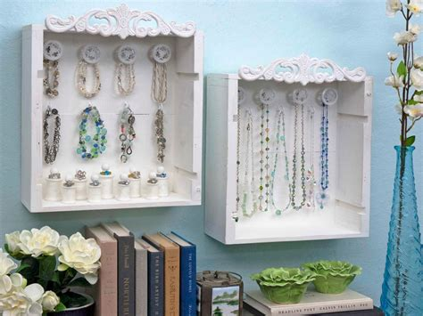 wine crate jewelry display boxes hgtv