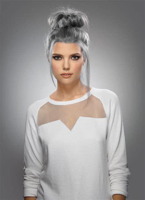 silver hair color formula rusk formula silver chic modern salon