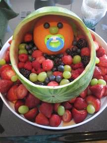 fruit trays for baby shower invitations ideas