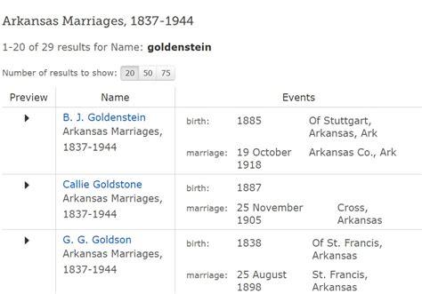Arkansas Marriage Records Familysearch Arkansas Marriages 1837 1944 On Familysearch 171 Genealogy