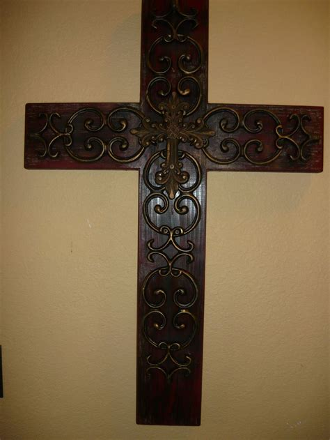wholesale crosses home decor wood iron wall cross wood iron wall cross original design made from scratch
