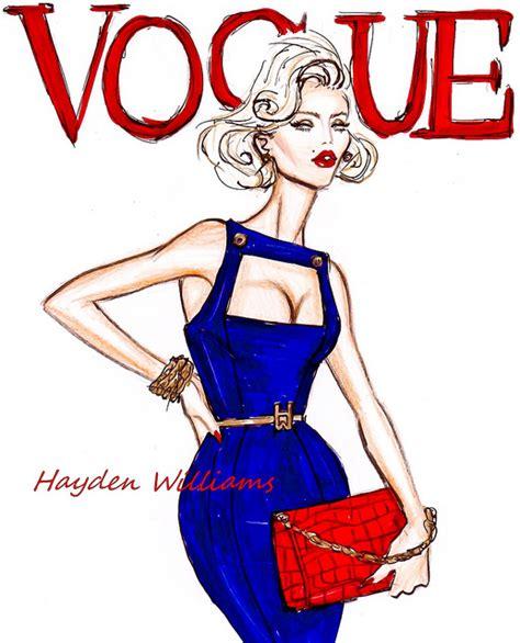 fashion illustration vogue covers hayden williams fashion illustrations vogue by hayden williams