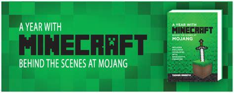 Mojang Dvd Ps4 Minecraft a year with minecraft the at mojang review