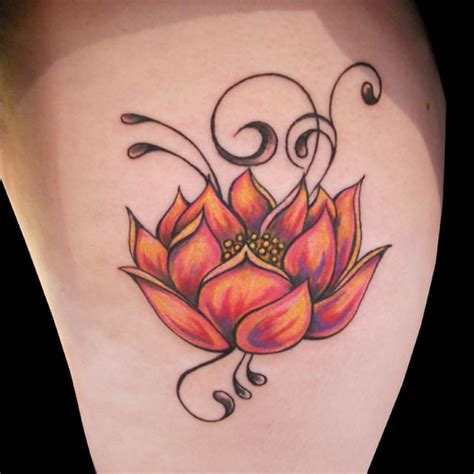 tribal lotus flower tattoo 41 enticing lotus flower tattoos