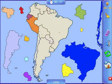 south america map puzzle south america puzzle map app for iphone education