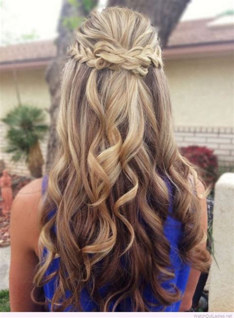 formal hairstyles half up half down curls pretty long hair half updos with curls watch out ladies