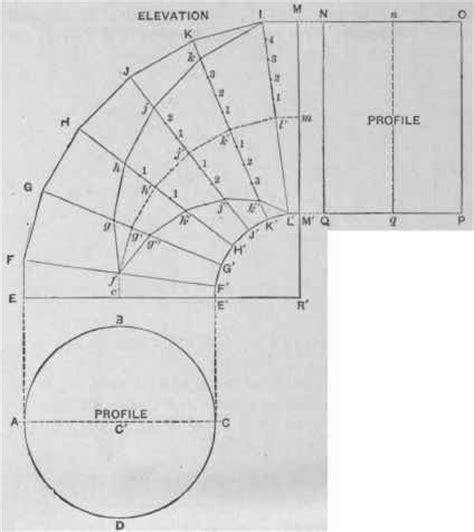 pattern development drafting sheet metal development drawing