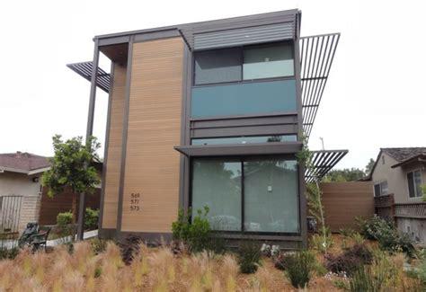 logical homes modern prefab prefab multifamily urban z6 house santa monica california usa photo gallery