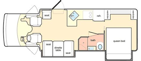 chinook rv floor plans 2004 chinook summit class b rvweb com