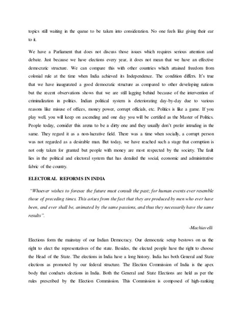 Modern Politics Essay by Essay On Politics In India Essay On Problems Of In Modern Energy Drink Essay Paper Sle