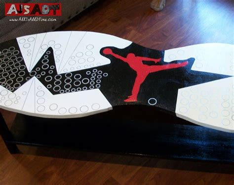 Mj Furniture by All Js All D Time 187 Air Vi Aj 6 Custom Coffee Table