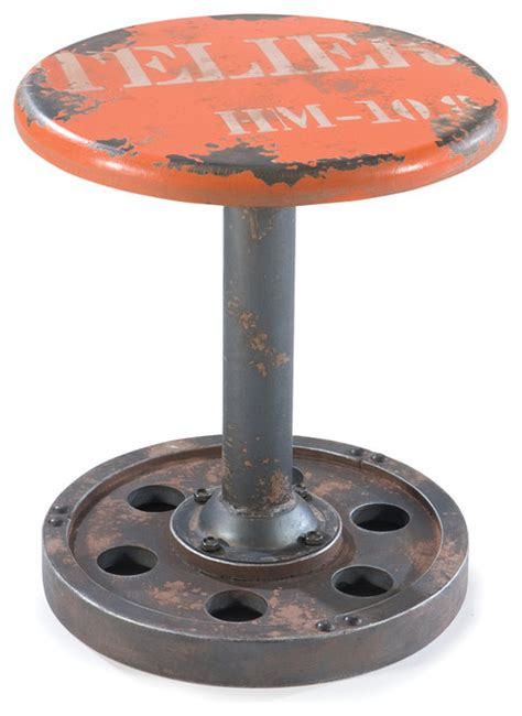 Garden Stools With Wheels by Shop Houzz Moe S Home Collection Wheel Stool Accent And Garden Stools