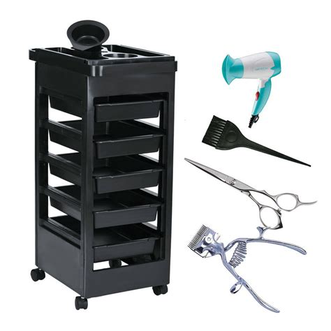 Trolly Salon aliexpress buy 1pc salon trolley station equipment rolling storage removable tray