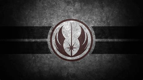 grey jedi wallpaper jedi order symbol desktop wallpaper by swmand4 on deviantart