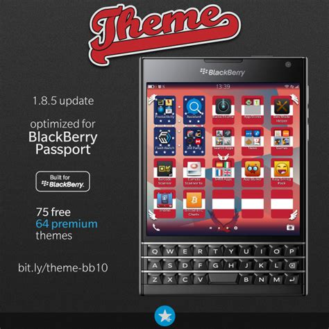 themes bb z3 s4bb limited 187 theme now supports blackberry passport