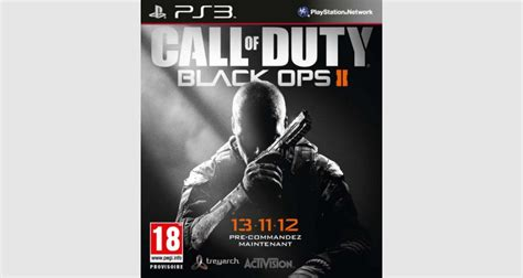 micromania siege social call of duty black ops ii sur ps3 tous les jeux vid 233 o
