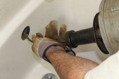 snake bathtub drain unclog a bathtub drain using a snake