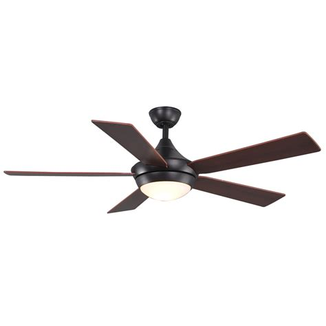 allen roth ceiling fan shop allen roth 52 in portes aged bronze ceiling fan