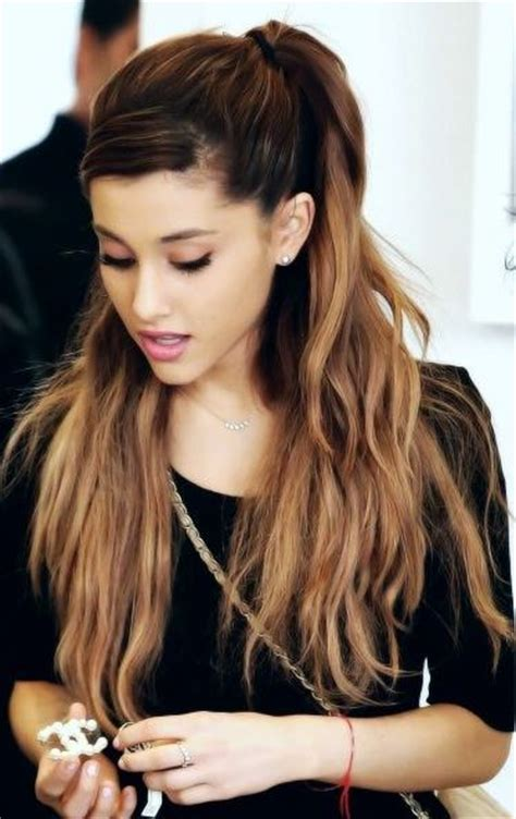 how to do the grande hairstyle celebrity hairstyles ariana grande hairstyles 2015 ombre
