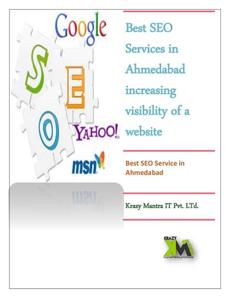 Best Seo Services by Best Seo Services In Ahmedabad Increasing Visibility Of A