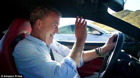 Jeremy Clarkson, Richard Hammond and James May celebrate