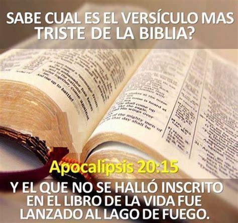 biblia del ministro rv60 0829720618 sabes cu 225 l es el versiculo mas triste de la biblia el vers 237 culo del d 237 a