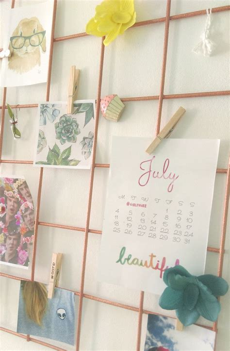 diy wire wall grid roomwall decor home decor  roku