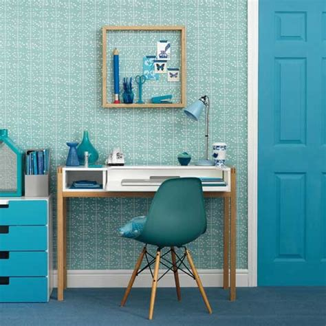 blue office 16 charming home office ideas