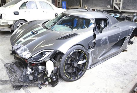 koenigsegg philippines video of the day most expensive car crash in china s