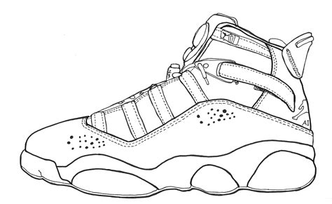 Free 3 Jordans Coloring Pages Jordans Coloring Pages