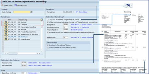 Forms Design Software sap formular bestellung zum festpreis solidforms