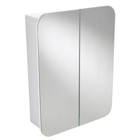 wall mounted mirrored bathroom cabinet buy wall mounted white quot denham quot double door bathroom