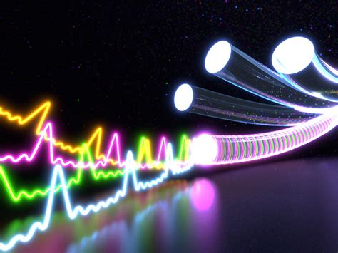 optical fibers ten times more throughput on optic fibers